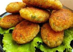 Картофельные котлеты с грибами - пошаговый рецепт с фото на Повар.ру