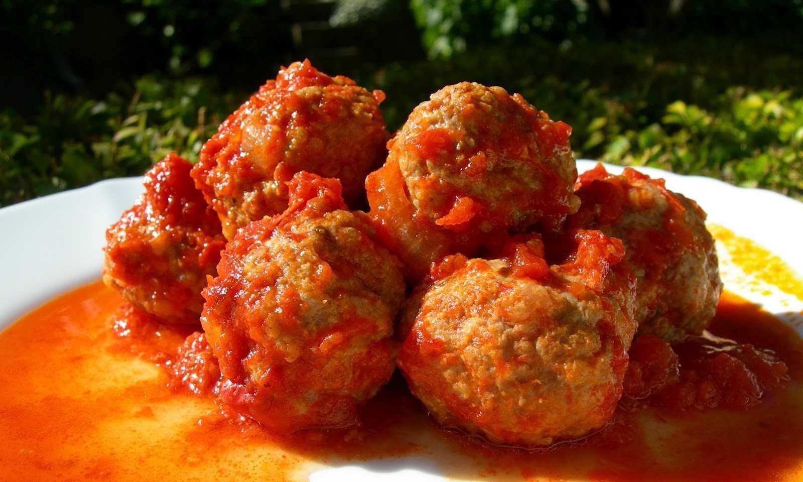тефтели в томатном соусе фото рецепт узнаете