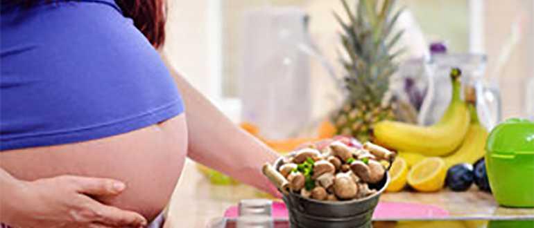 Можно ли беременным консервированные шампиньоны