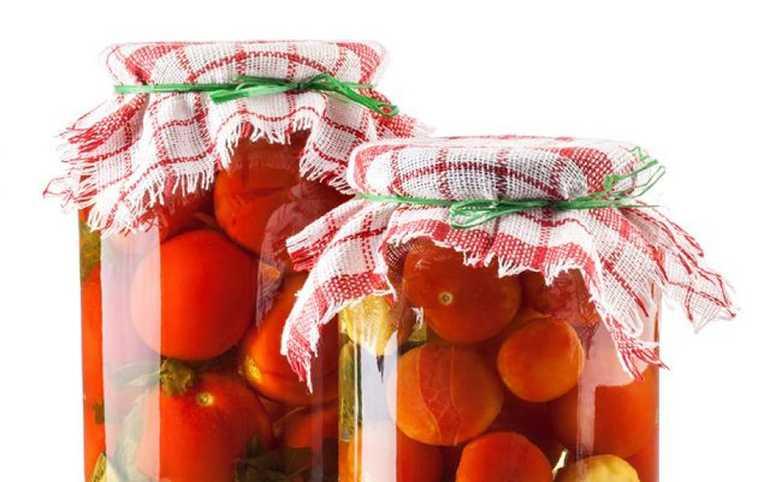 Приготовление помидор на зиму без уксуса