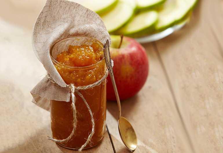 яблочный джем без сахара