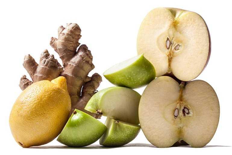 яблочно-имбирный компот