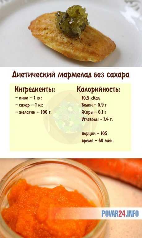 Вкуснейшие рецепты приготовления низкокалорийных джемов