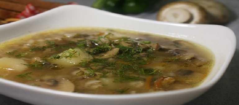 Как сварить суп из соленых груздей