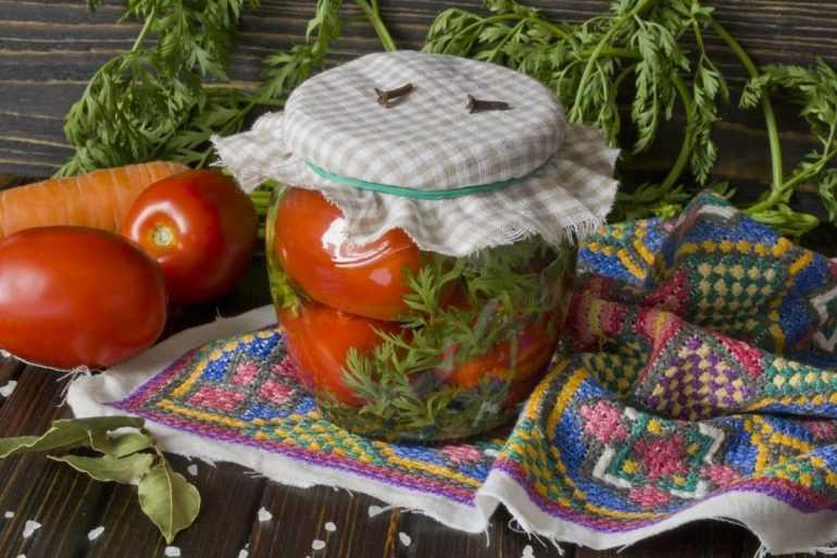 Маринованные помидоры на зиму с аспирином