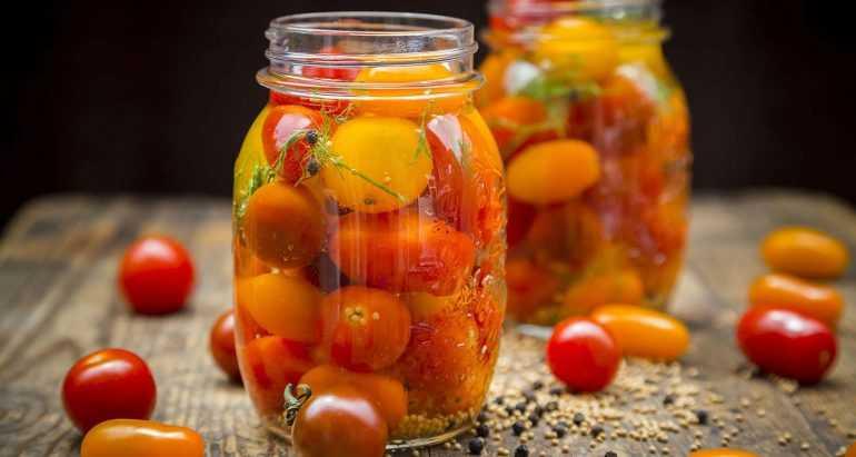 Обалденные помидоры в желе на зиму