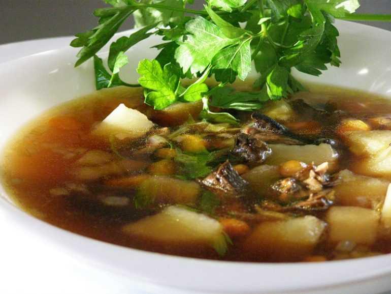 Сколько по времени варить белые грибы для супа