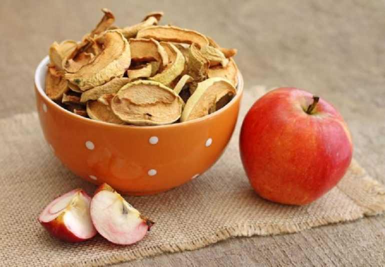 Сушка яблок в духовке газовой плиты температура