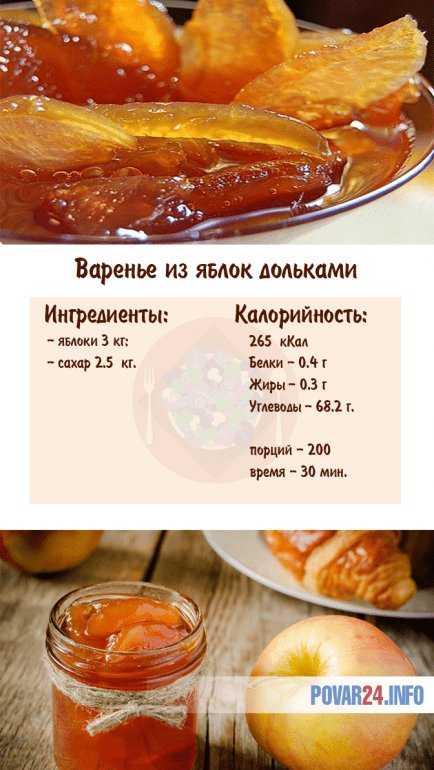 Варианты приготовления варенья из яблок