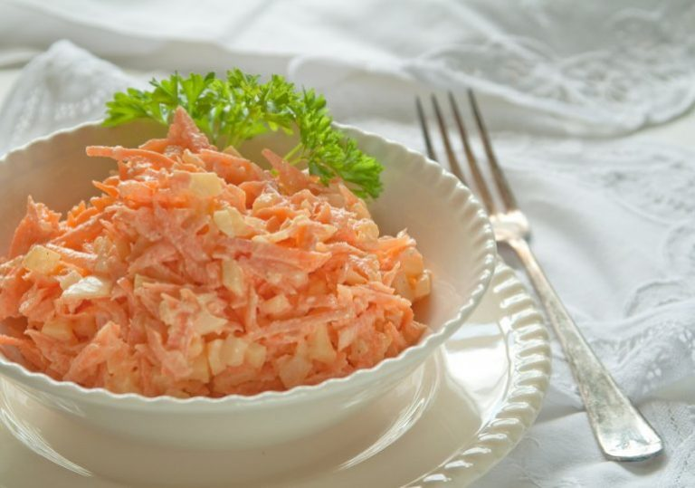 Морковь С Майонезом И Чесноком Для Похудения.