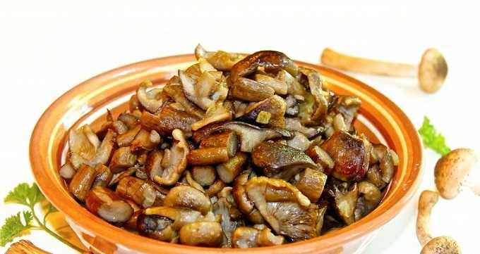 Сколько жарятся белые грибы