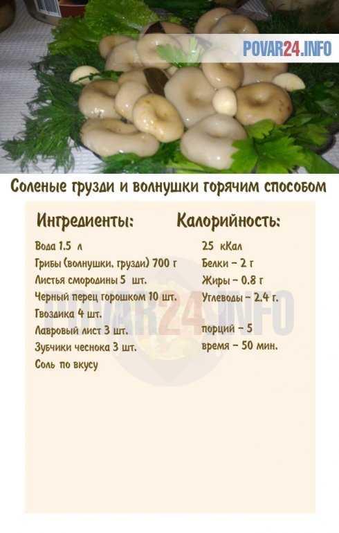 Вкусный и простой рецепт, как солить волнушки и грузди вместе