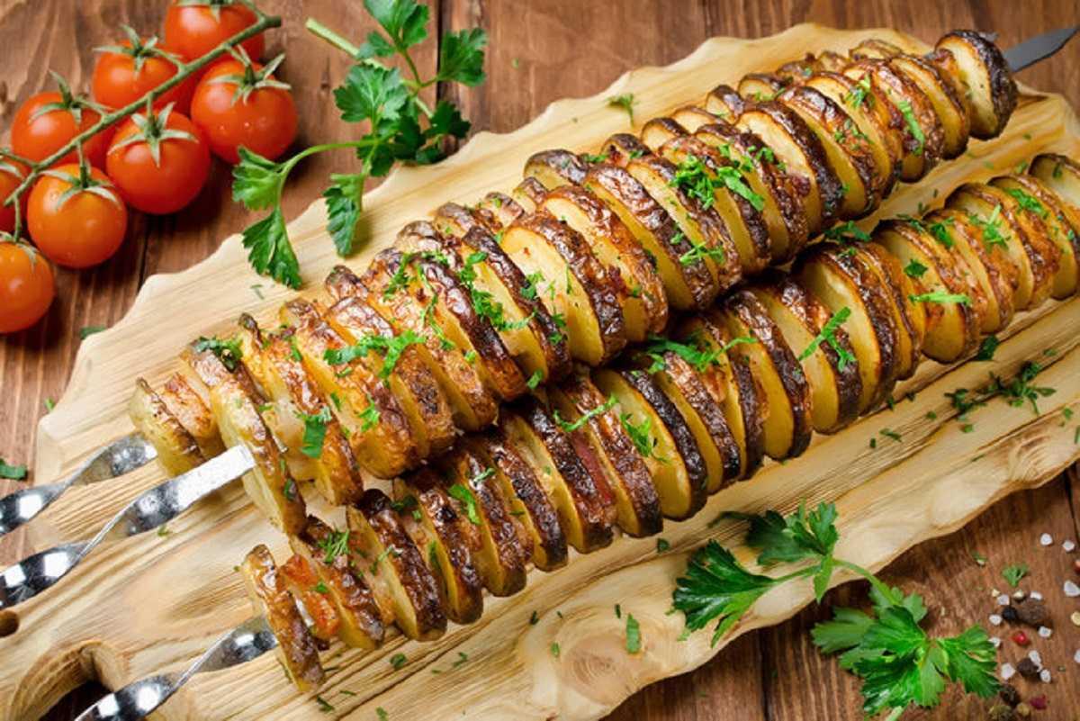шашлык из картофеля фото иванович