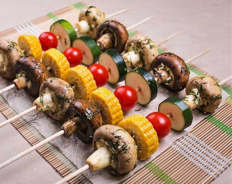 петербурге шашлык из овощей рецепт с фото деревянная