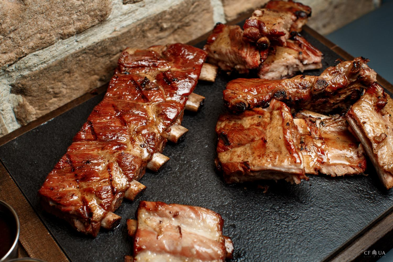 мясо на кости рецепт с фото растушевку
