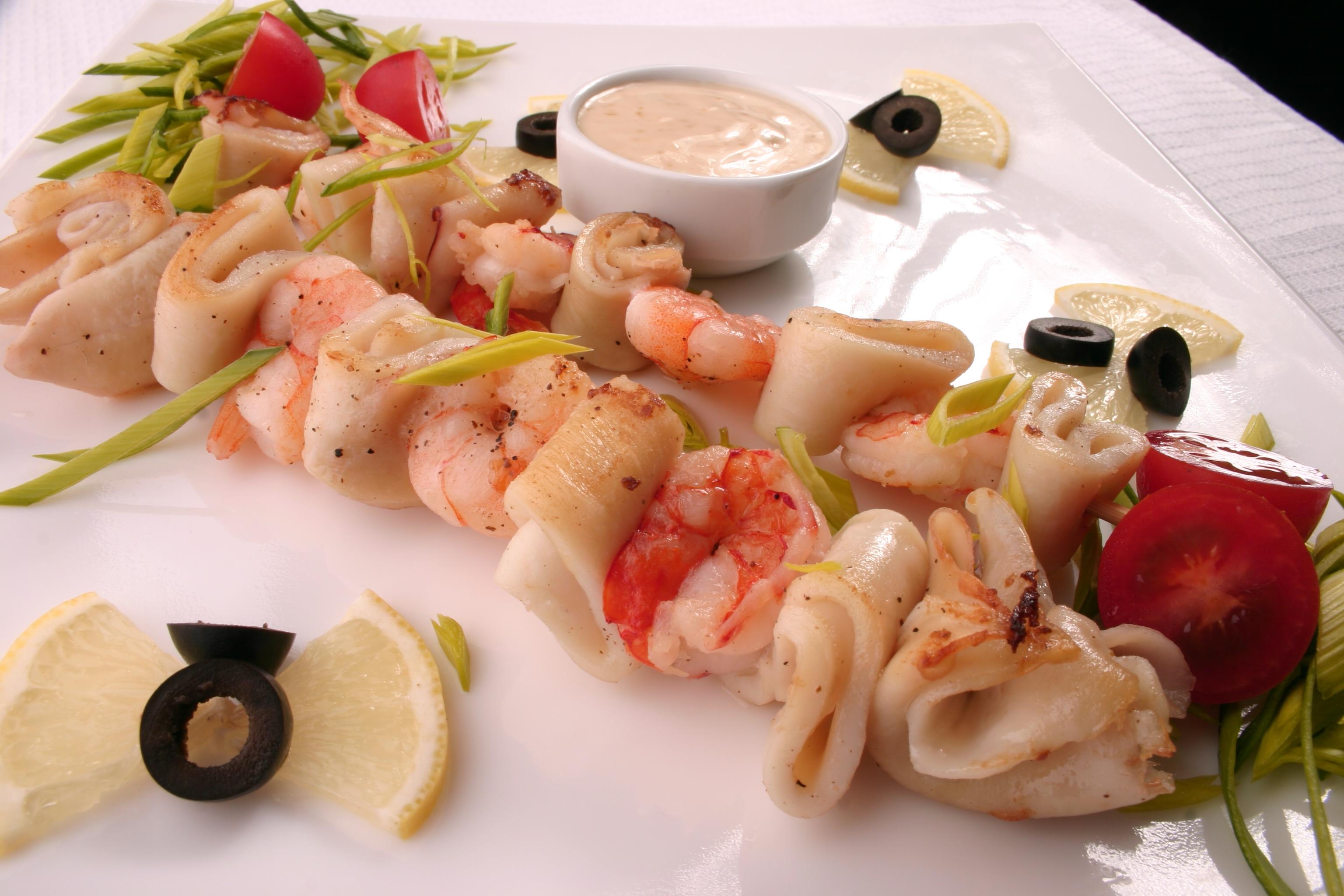 рецепты блюд из кальмаров с фото